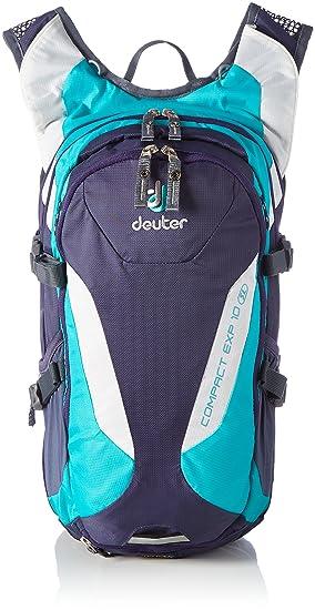 Deuter Compact EXP 10 SL Mochila para Bicicleta, Mujer, Morado (Blueberry/Mint), Única: Amazon.es: Deportes y aire libre
