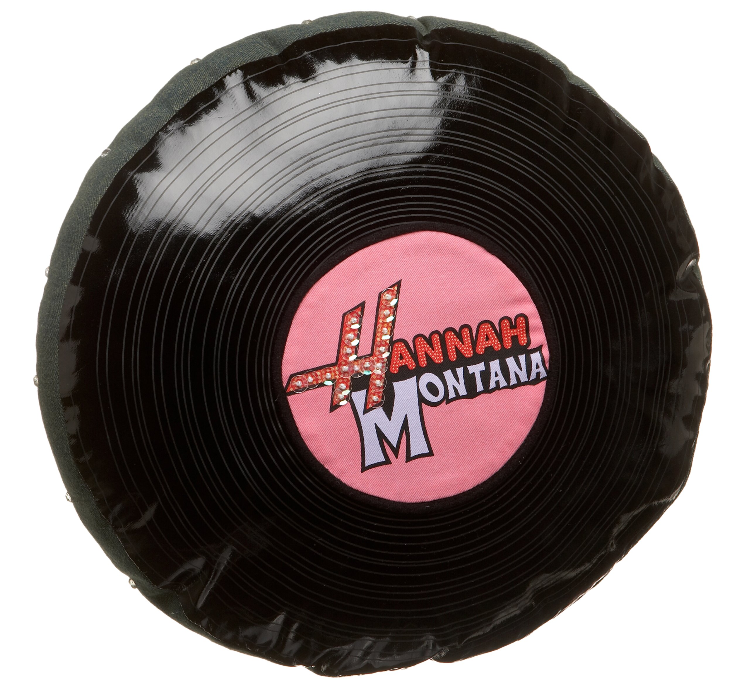 Hannah Montana Record & Flower Pillow