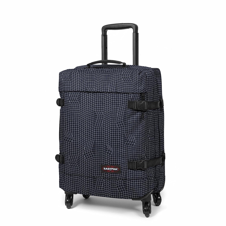 Valise cabine souple Eastpak Trans4 TSA S - 54 cm Double Denim bleu nHyZ6