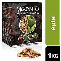 MAVANTO® XXL Profi Räucherchips für das perfekte Raucharoma - rauchintensive Holzchips aus den USA in 5 verschiedenen Sorten