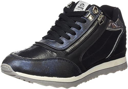 MTNG, Zapatillas para Mujer, Dorado (Santa Azul/Cosmo Negro), 39 EU
