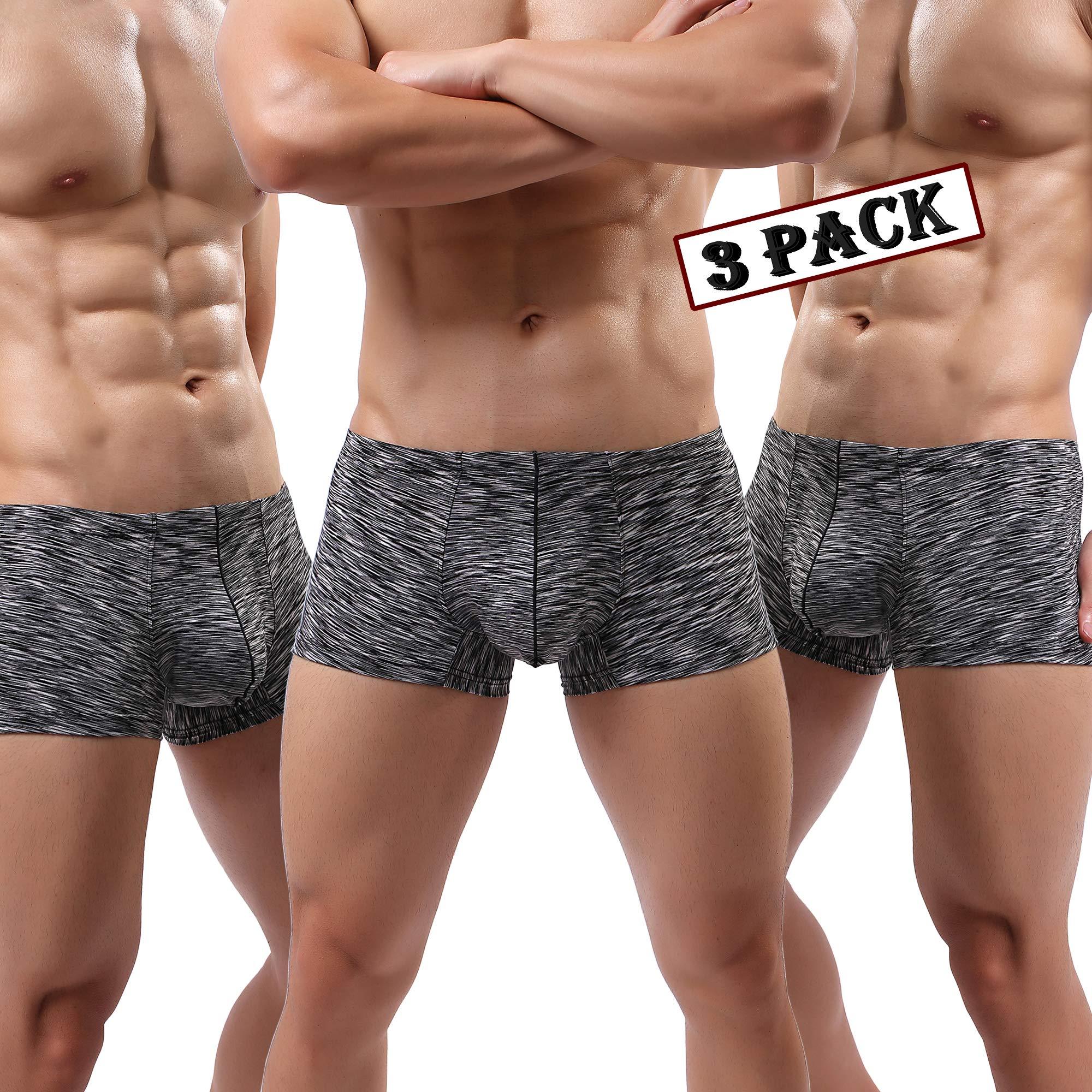 MAKEIIT Young Underwear X-Temp Boxers Guys Underwear Fitted Cool Boxer Briefs Men