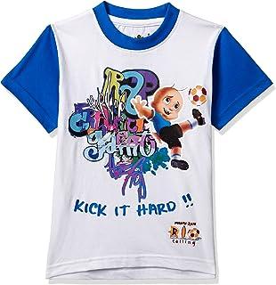 e96e60906b Chhota Bheem Boys' T-Shirt (Pack of 3) (8904157860178) 3-4 Years ...