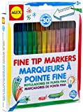 ALEX Toys Artist Studio 30 Washable Fine Tip Markers