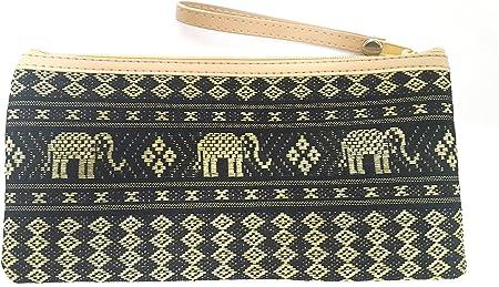 Handmade Fabric Zipper Pouch