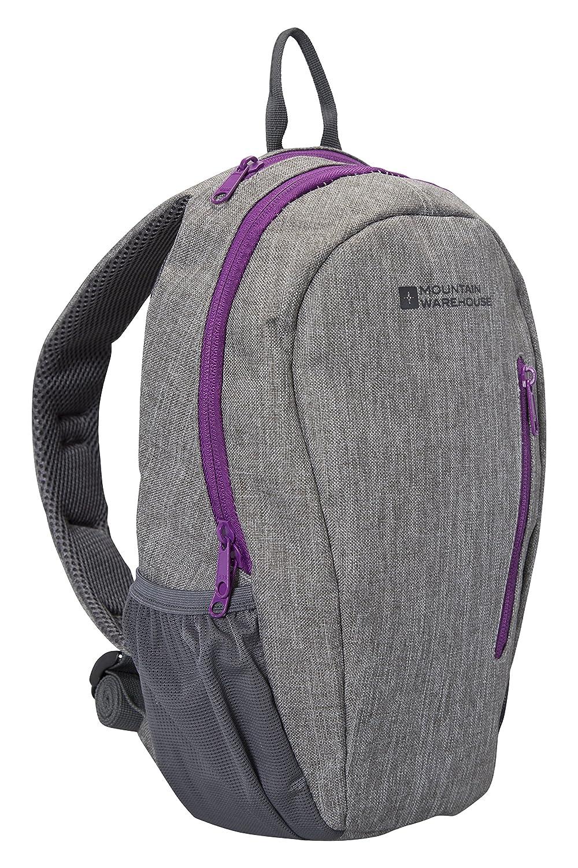 Mountain Warehouse Sac à dos Esprit 10L - Sac à dos avec bretelles en maille rembourrées, compartiment pour tablette, poche zippée, poches porte-bouteille - Parfait pour les voyages LYSB00J2AAVM6-SPRTSEQIP
