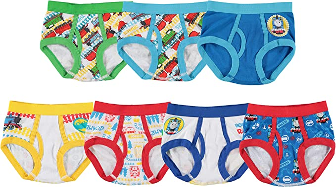 Boys Thomas Trunk Children Thomas 2 in A Pack Underwear Age 2-8 Years