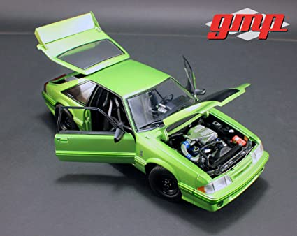 "1993 Ford Mustang Cobra Nitro Green 1320 Drag Kings ""King Snake"" Limited Edition"