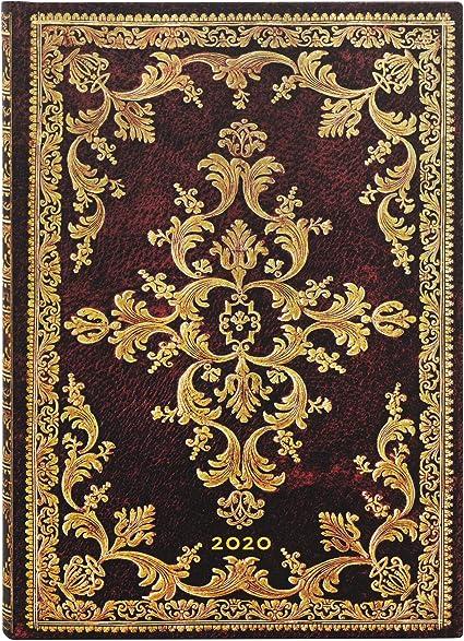 12 mesi Paperblanks 180 x 130 mm Agenda giornaliera 2020