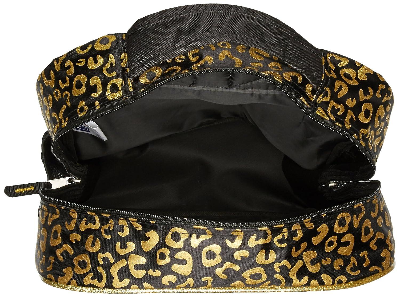Bratz Girls I Want It All Front Zipper Pocket Black 16 Inch Backpack