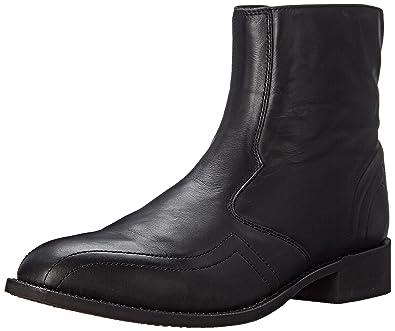 Laredo Men's Hoaxie Side-Zip Short Boot Black 13 EE US