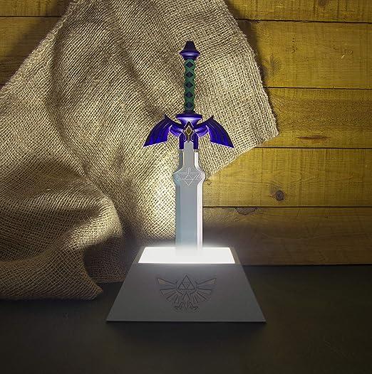 Paladone Lampe 3D Zelda, multicolore [Classe énergétique A]