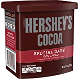 HERSHEY'S SPECIAL DARK 100% Cocoa (Natural and Dutched Cocoas), Gluten Free, 8 Ounce Can (Pack of 6)
