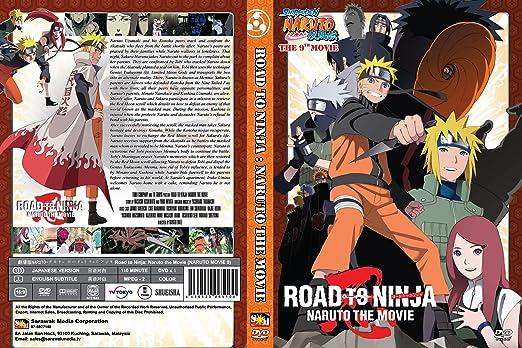 Amazon.com: Naruto Movie 9: Road to Ninja [Japanese Audio ...
