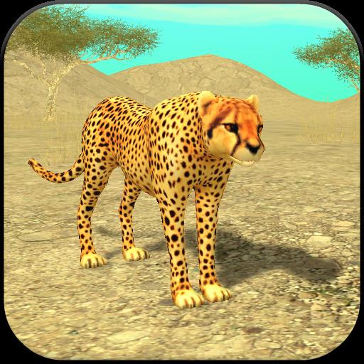 Wild Cheetah Sim 3D -