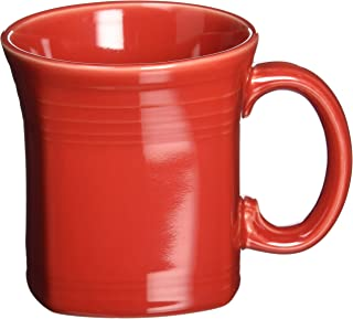 product image for Fiesta 13-Ounce Square Mug, Scarlet