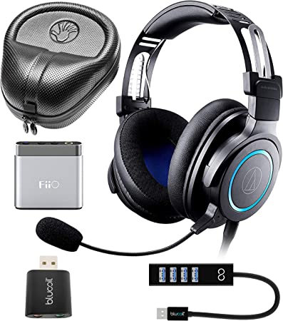 Amazon.com: Audio-Technica ATH-G1 Wired Stereo Headset for