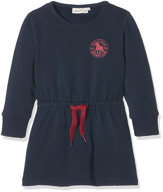 Name It Nitvolta Bru SWE Dress F MZ D, Vestito Bimba Blu Dress Blues 92 13145739