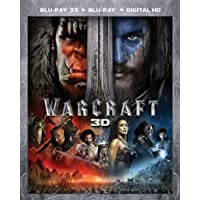 Warcraft on (Blu-ray 3D + Blu-ray + Digital HD)