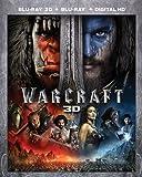 Warcraft [Blu-ray 3D + Blu-ray + Digital HD]