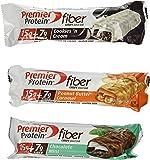 Premier Protein Variety Fiber Crispy Snack Bar 18-1.83 OZ (52g) Bars Net WT. 32.94 OZ (936g)