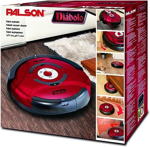 Palson 30595 Diablo-Robot Aspirador (Acero Inoxidable, 23 W ...
