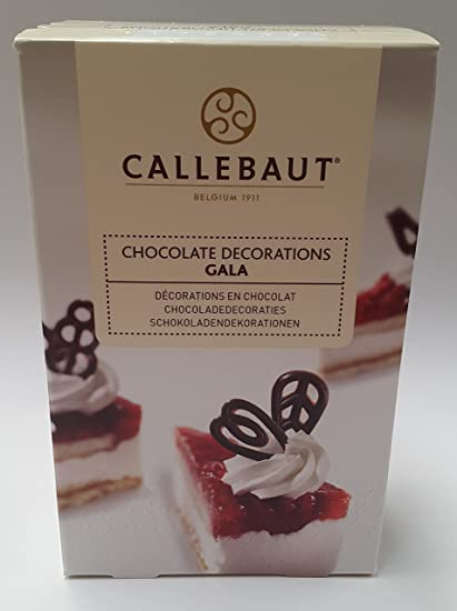 Callebaut decoraciones de filigrana de chocolate