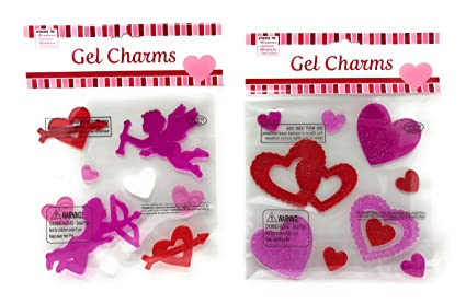 ba8bb72432851 Amazon.com: Nantucket Home Valentine's Day Cupid and Hearts Gel ...