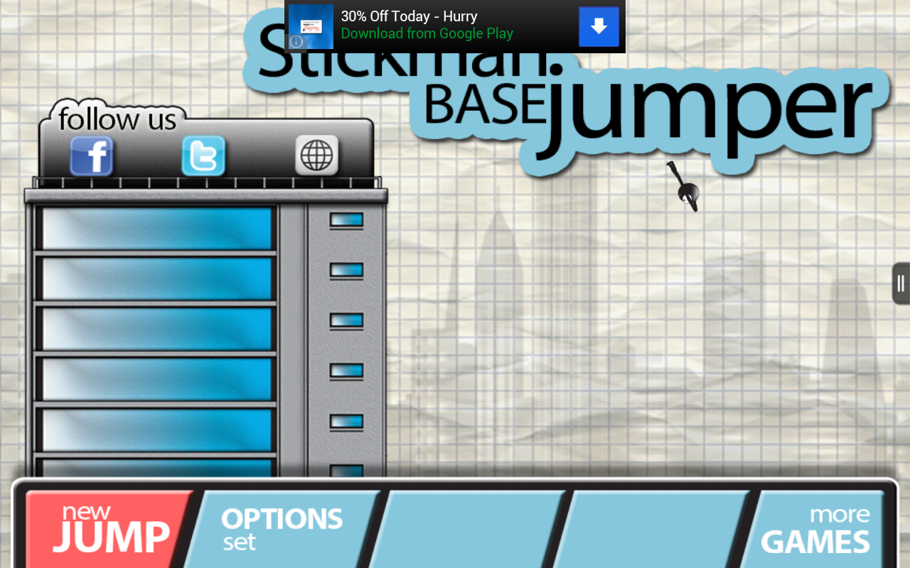 stickman base jumper appstore for android. Black Bedroom Furniture Sets. Home Design Ideas