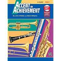 Accent on Achievement, Bk 1: B-flat Trumpet (Book & CD)