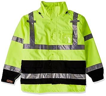 Icono j24122.4 X transpirable 300d PU Hi-Vis chaqueta con ...
