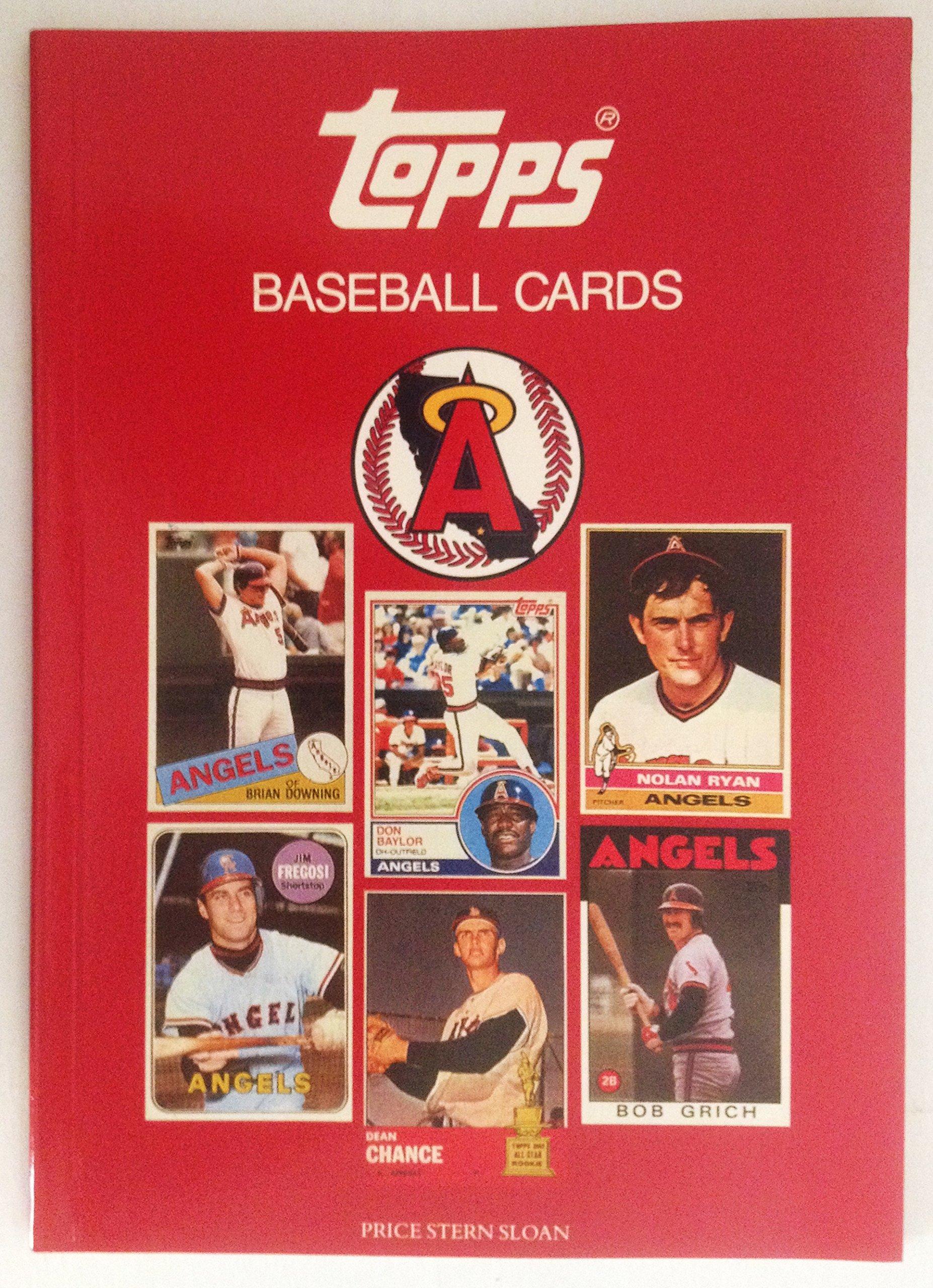 California Angels Topps Baseball Card Books 9780843156799