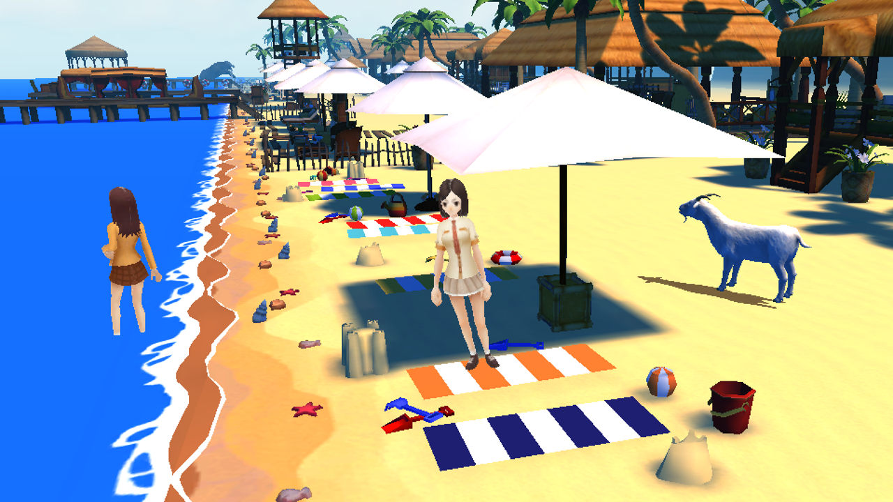 Amazon.com: Goat Frenzy Simulator 2 : Beach Party: Appstore for Android
