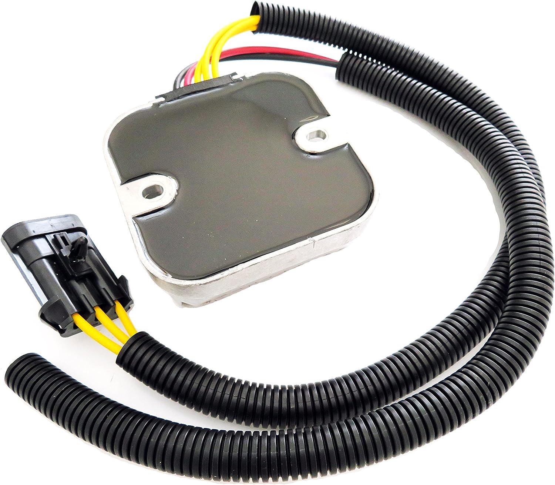 Moset Voltage Regulator Rectifier For 2012-2016 Polaris RZR 4 1000 XP 900 Sportsman 570 325 Repl.OE# 4013247 4013904 4014029 4015229