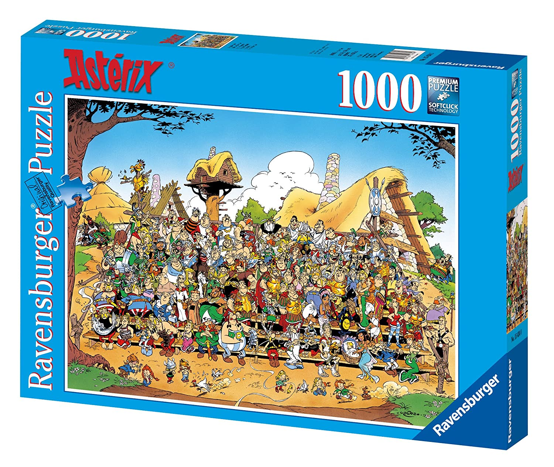 amazon com ravensburger asterix family portrait jigsaw puzzle