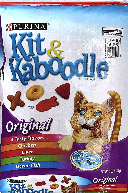 Purina Kit & Kaboodle Alimento Original para Gatos Bolsa de 13 ...