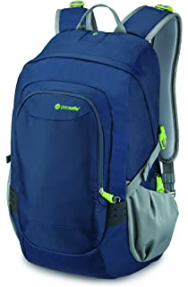 Pacsafe Venturesafe GII 25 Liter Anti Theft Travel Backpack   Daypack (Navy  Blue) f82293402c8d1