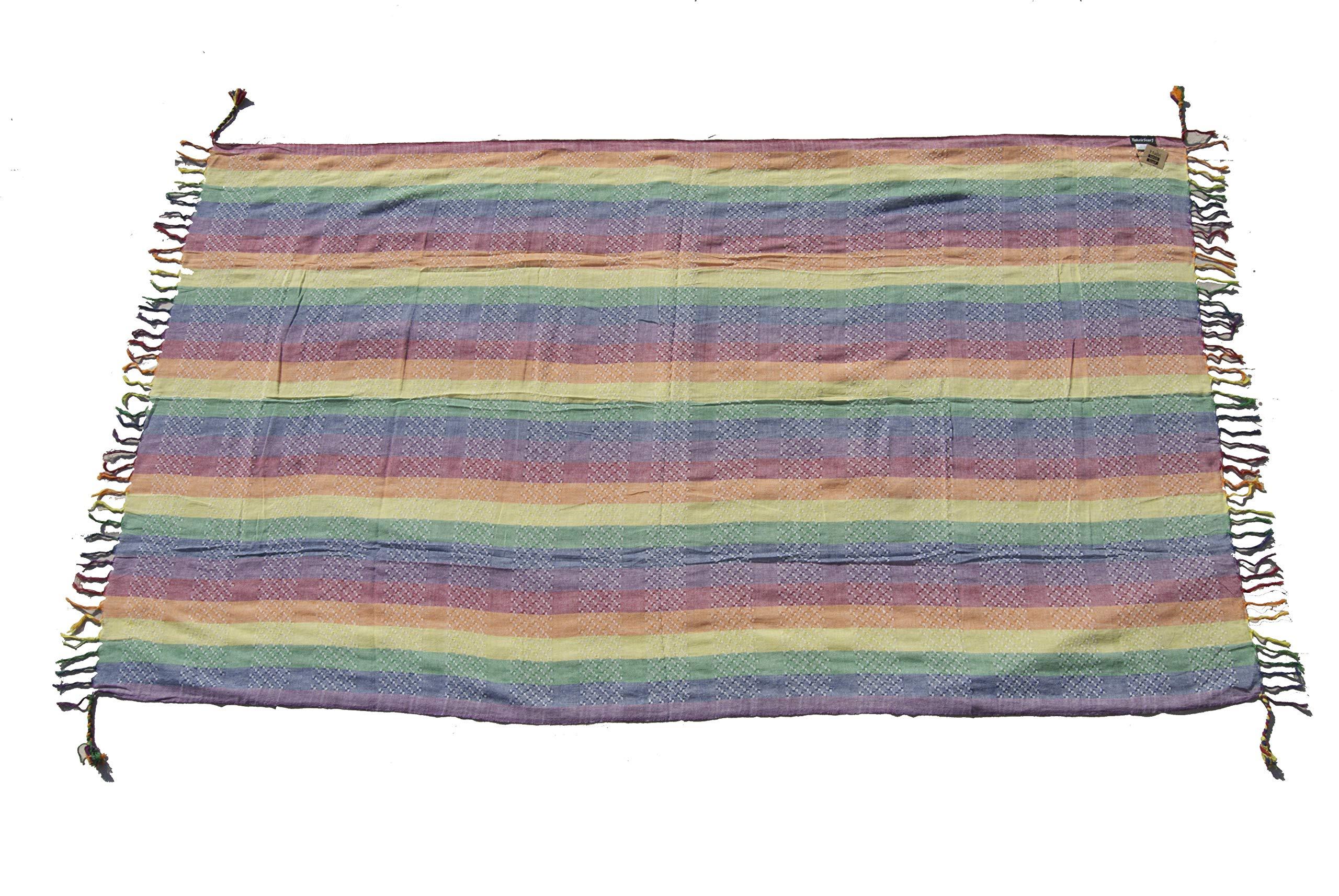Tahrir Scarf Hapi Rainbow Cotton Sarong