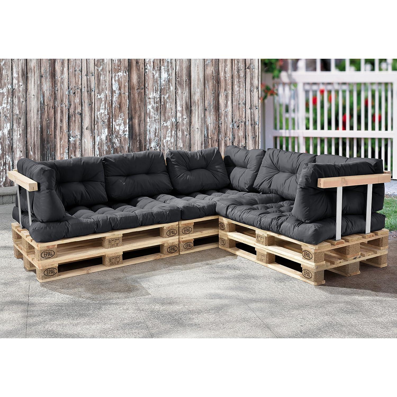 Paletten Sofa en casa palettenkissen 11 teilig sitzpolster rückenkissen