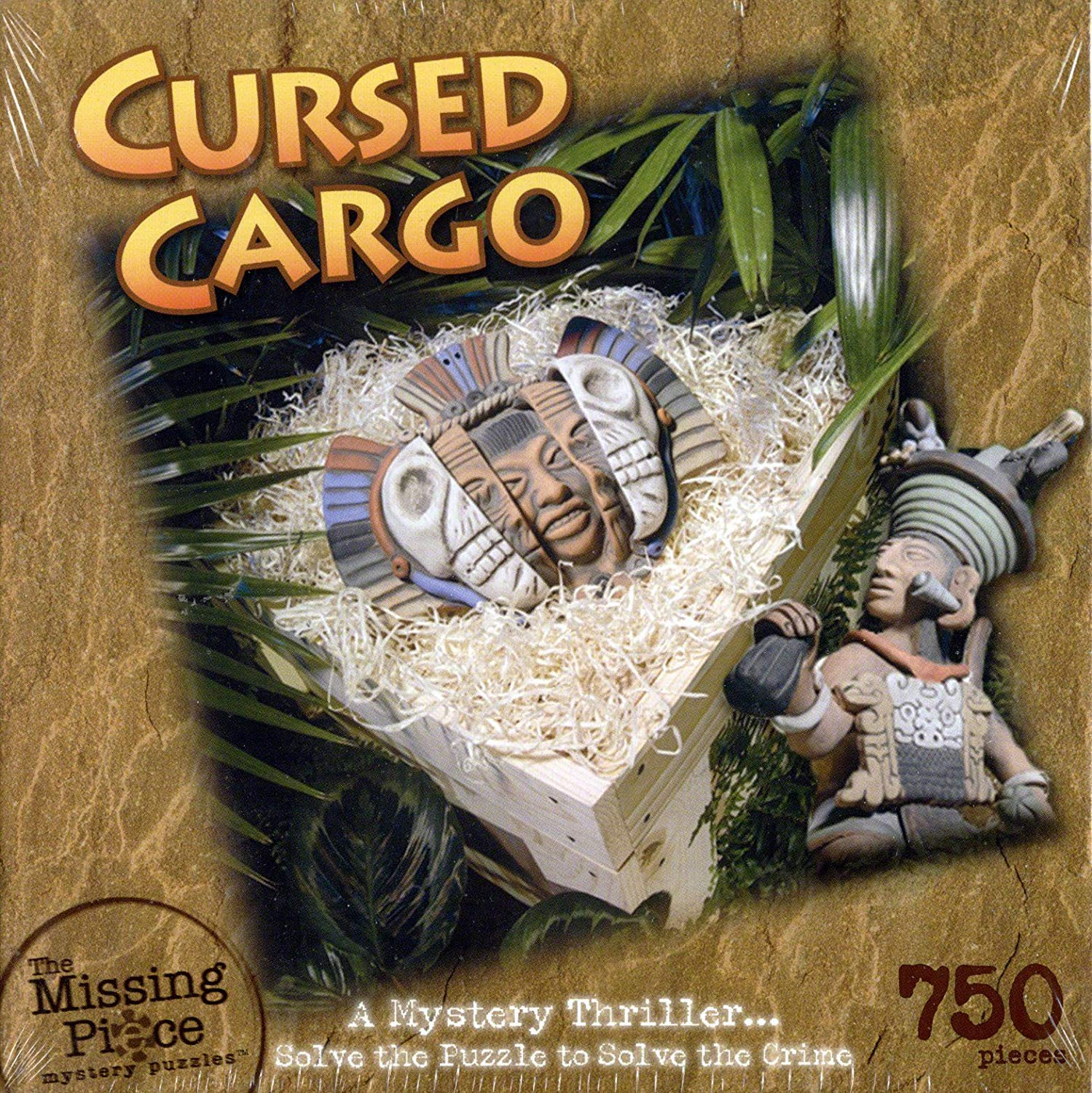 Missing Piece 750Piece Mystery Puzzle  Cursed Cargo by pinkart