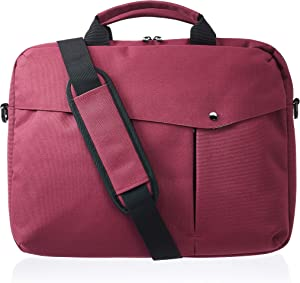 AmazonBasics Business Laptop Case - 15-Inch, Maroon