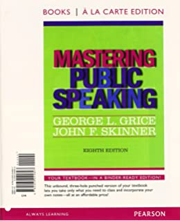 Amazon mastering public speaking 8th edition 9780205029396 mastering public speaking books a la carte edition 8th edition fandeluxe Gallery