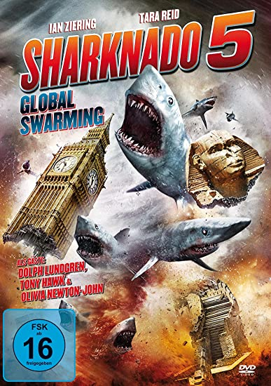 Sharknado 5 - Global Swarming Uncut Fassung Alemania DVD: Amazon ...