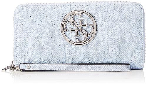 Slg Wallet, Womens Silver, 2x10x20 cm (W x H L) Guess