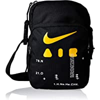 Nike Mens Messenger Bags, Black/Black/Kumquat - Ba5899-011