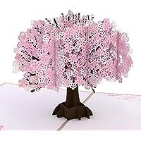 Lovepop Cherry Blossom Pop Up Card - 3D Card, Mother's Day Card, Pop Up Mother's Day Call, Card for Wife, Card for Mom…