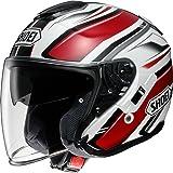 ショウエイ(SHOEI) バイクヘルメット ジェット J-CRUISE PASSE【パッセ】 TC-1 (RED/WHITE) L (59cm)