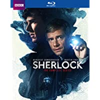 Deals on BBC Sherlock: The Complete Series Blu-ray