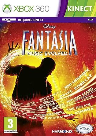 Disney Fantasia: Music Evolved, Xbox Xbox 360 vídeo - Juego (Xbox, Xbox 360, Música, Modo multijugador, E10 + (Everyone 10 +), Soporte físico): Amazon.es: Videojuegos
