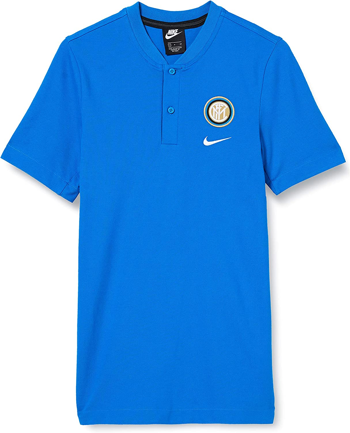 2019-2020 Inter Milan Authentic Polo Shirt Blue Sports & Outdoors ...